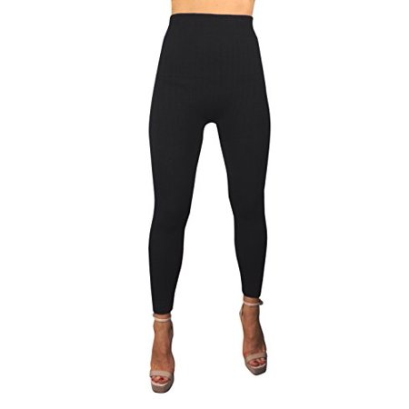d4be3ab5a5 Peach Couture - Peach Couture High Waist Slimming Seamless Fleece Lined  Winter Leggings Yoga Pants - Walmart.com