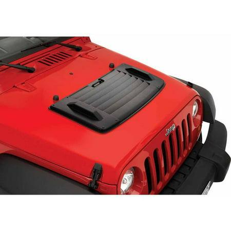 Bestop 81713-01 Jeep Wrangler Hood, Applique, Black