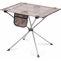 Ozark Trail Small Compact Side Table, Warm Gray