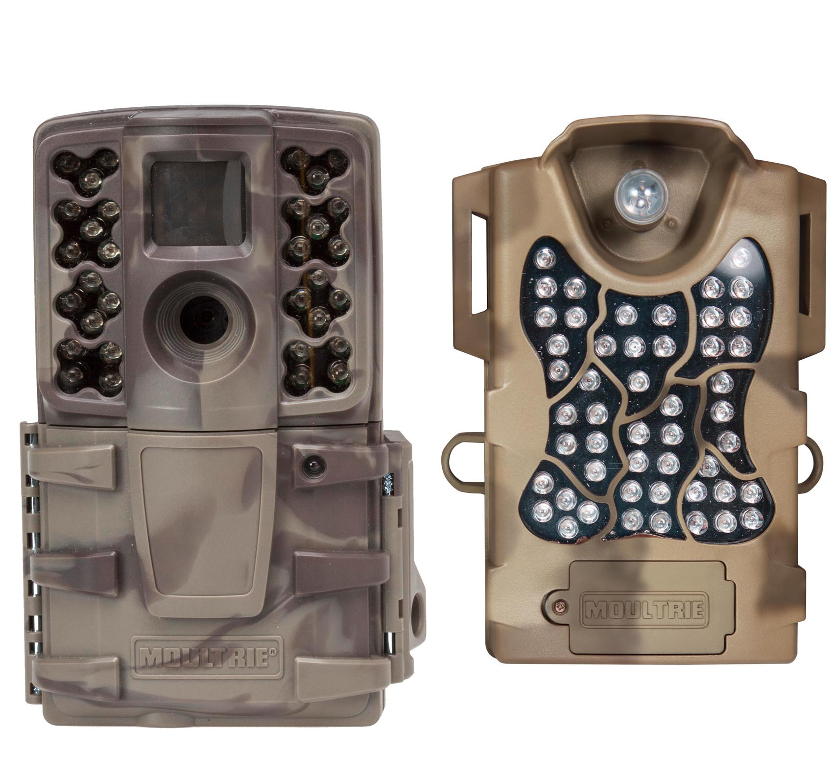 Moultrie No Glow Invisible 12 MP Mini A20i IR Trail Game Camera + Flash Extender by Moultrie