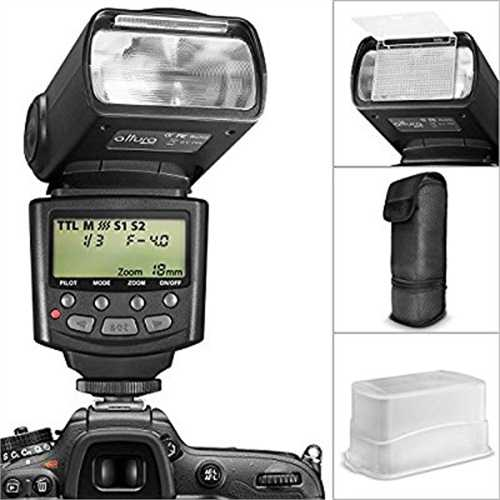 Altura Photo E-TTL Auto-Focus Dedicated Flash (AP-C1001) ...