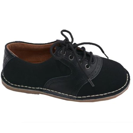 L Amour - L Amour Little Boys Black Nubuck Leather Oxford Lace Ups Shoes  11-2 Kids - Walmart.com 7987b6f1562