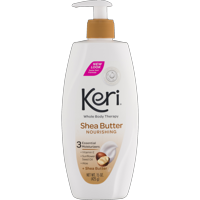 Keri Nourishing Shea Butter & Vitamin E Whole Body Therapy Lotion, 15 oz
