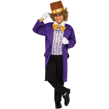 Boy's Willy Wonka Halloween Costume