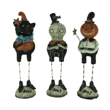 Set of 3 Pumpkin Peeps Vintage Look Halloween Figurines](Photo Halloween Vintage)