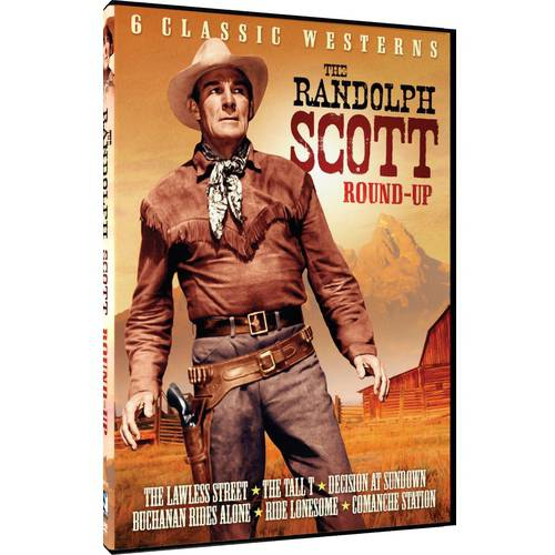 6 Classic Westerns - The Randolph Scott Round-Up