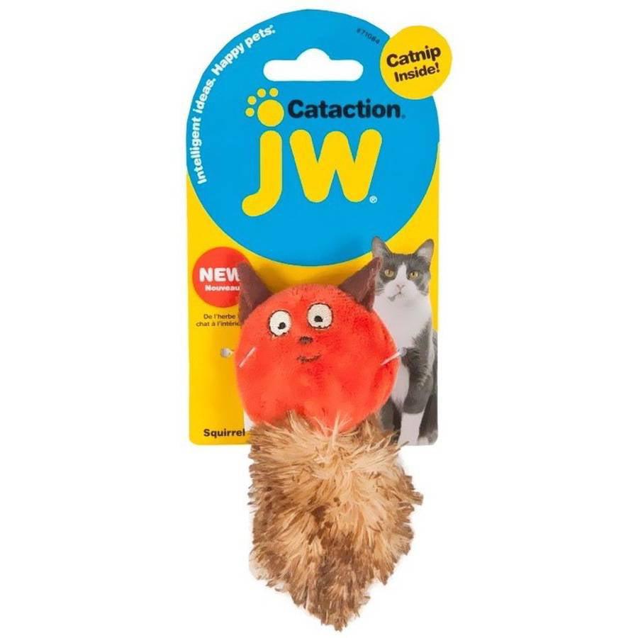 JW Pet Cataction Catnip Squirrel