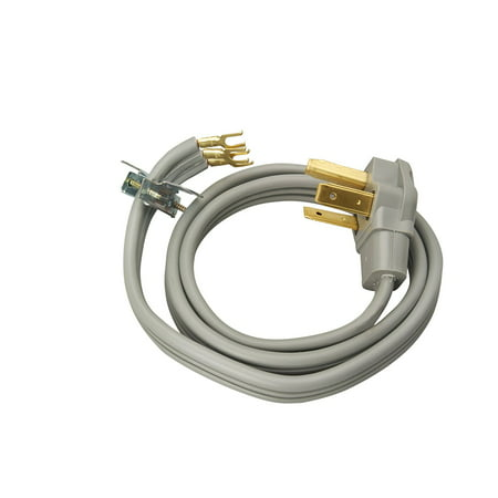 Coleman Cable 09126 30-Amp 3-Wire Dryer Power Cord,