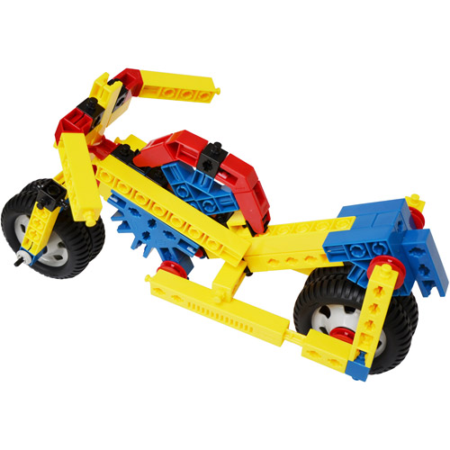Engino Mechanical Science: Wheels & Axles Multi-Colored