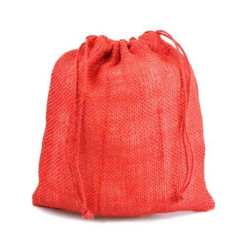 "12"" x 14"" Burlap Jute Favor Party Gift Bags with Drawstri..."