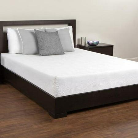 comfort memories 10 inch twin size memory foam mattress. Black Bedroom Furniture Sets. Home Design Ideas