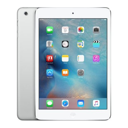 refurbished apple ipad mini 2 16gb silver wi fi me279ll a. Black Bedroom Furniture Sets. Home Design Ideas