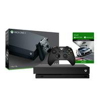 Microsoft Xbox One X Refurbished 1TB Black 4K Ultra HD Console Microsoft Forza Motorsport 7 Bundle