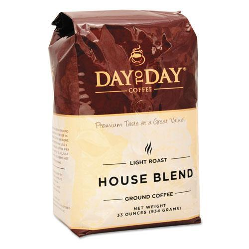 PapaNicholas Coffee 33100 100% Pure Coffee, House Blend, Ground, 33oz Bag