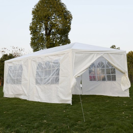 Zimtown 10' x 20' Party Tent Wedding Canopy Gazebo Wedding Tent Pavilion