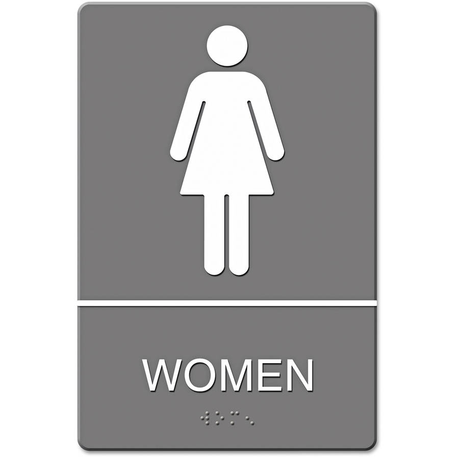 Bathroom Signs Ada headline sign ada sign, restroom symbol tactile graphic, molded