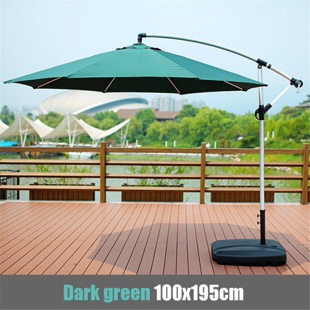 39x77x63inch Waterproof Sunshade Beach Umbrella Fabric