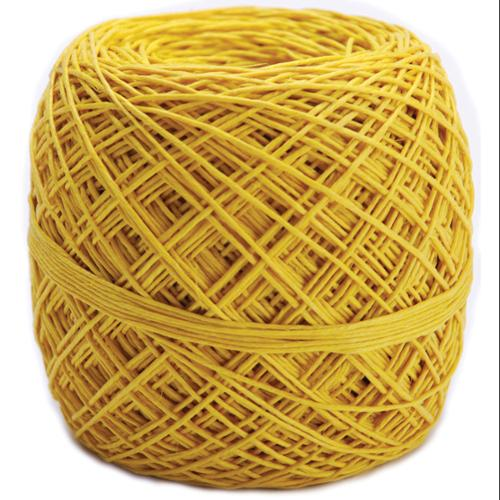 Hemp Cord 20# 400 Feet/Pkg-Yellow