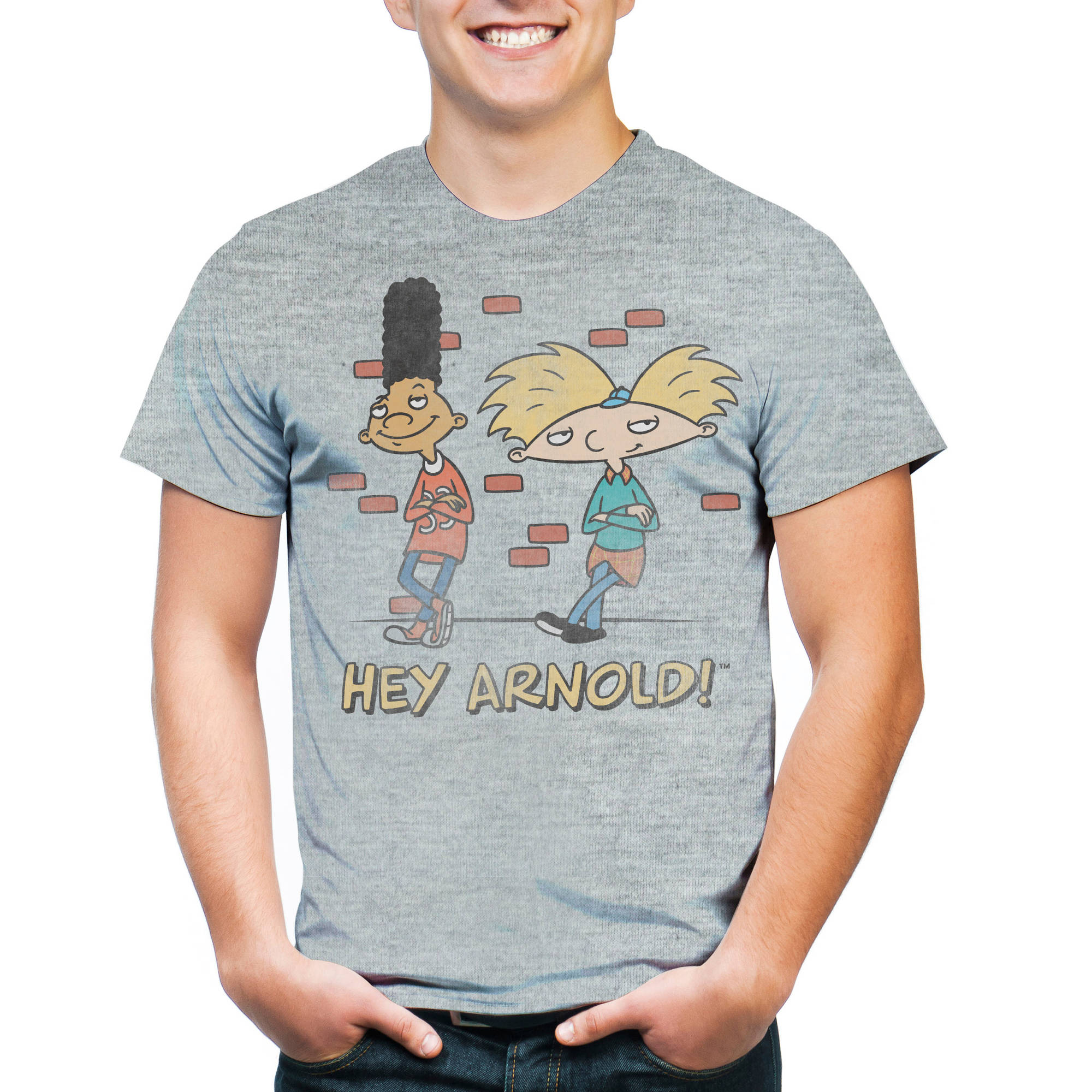 Hey Arnold Men's Short Sleeve T-shirt