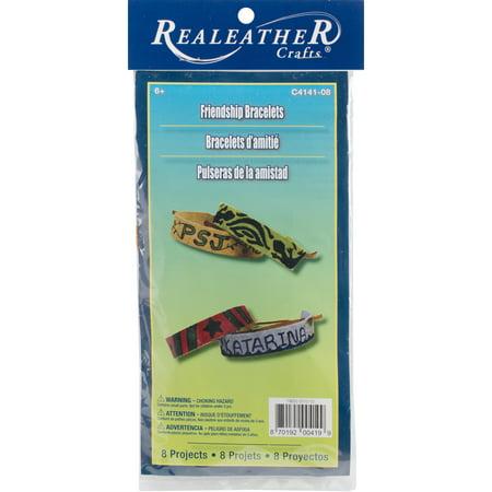 Leathercraft Kit-Friendship Bracelets 8/Pkg - image 1 de 1