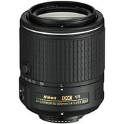 Nikon 55-200mm f/4-5.6G VR II DX AF-S ED Zoom-Nikkor Lens - Factory Refurbished includes Full 1 Year Warranty