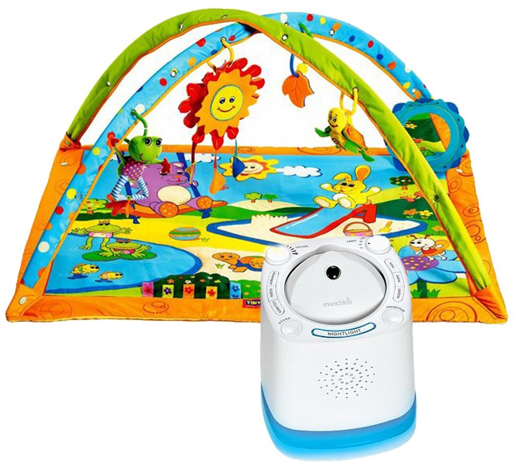 Tiny Love Gymini Sunny Day Activity Gym with Nursery Sound Machine & Projector