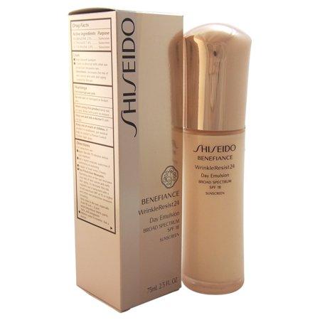 Best Shiseido Benefiance Wrinkle Resist 24 Day Emulsion SPF 15, 2.5 Oz deal