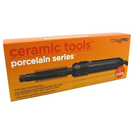 Conair Pro Ceramic Tools Porcelain Series Far Infrared Hot Air Brush  3 4 Inch