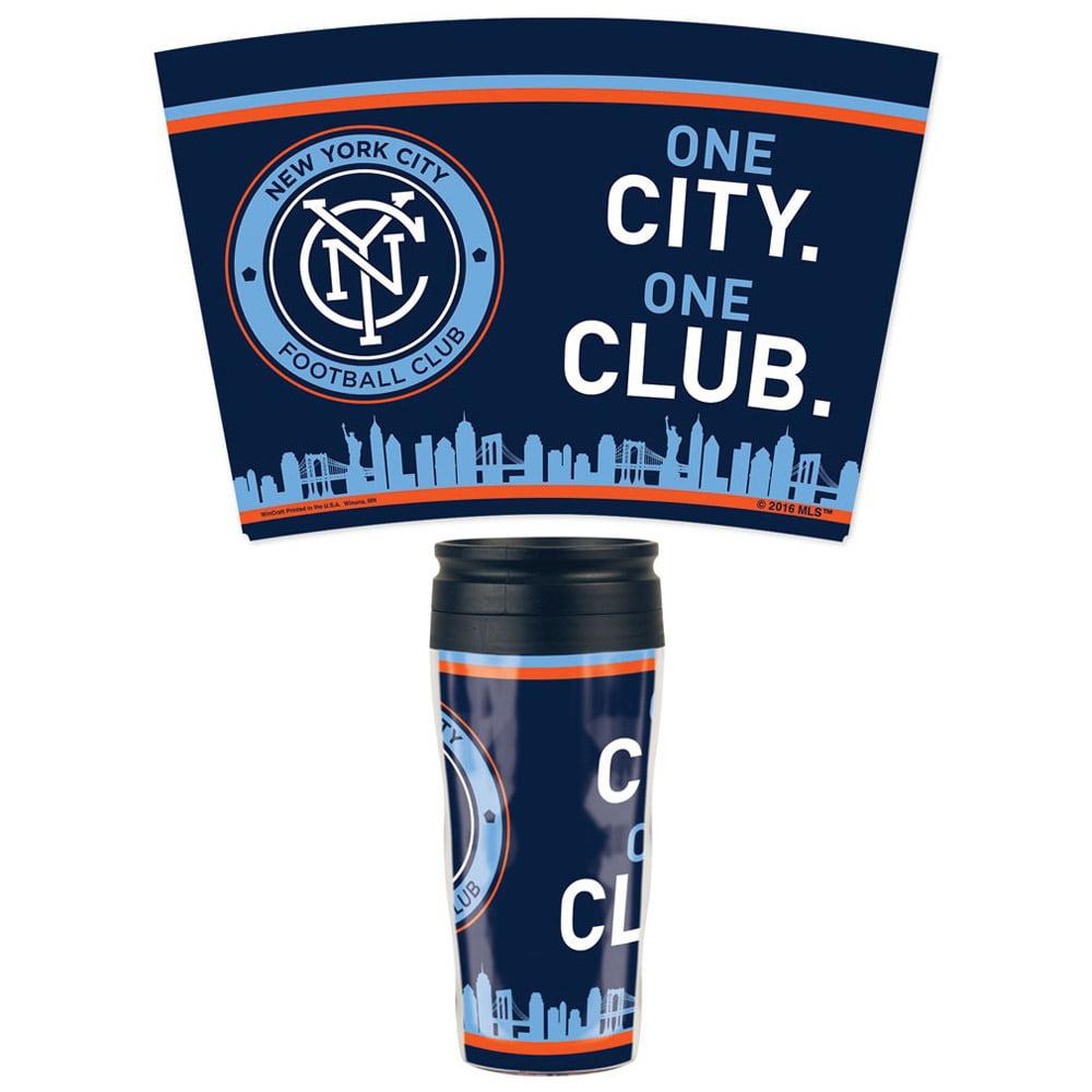 New York City FC WinCraft 16oz. Contour Travel Mug - No Size