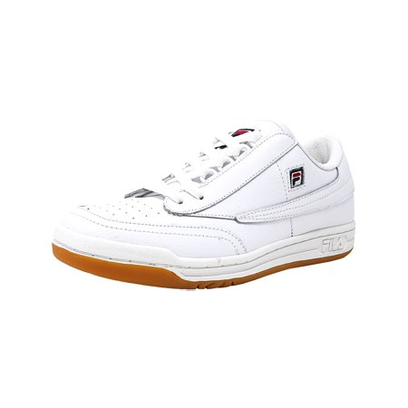 0997183e5355 Fila - Men s Original Tennis White   Gum Ankle-High Shoe - 8.5M -  Walmart.com