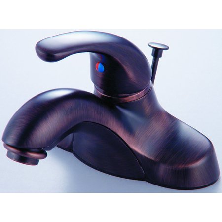 Hardware House Single Handle Bathroom Faucet - Classic Bronze