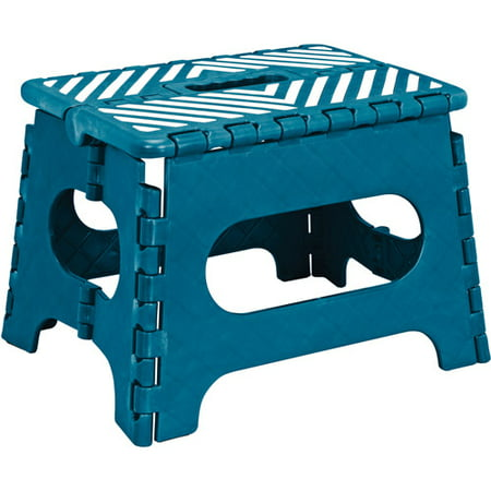 Simplify 9 Stripe Top Folding Step Stool