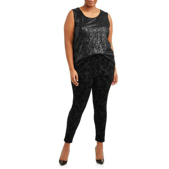 2e32ac15703 Terra   Sky - Women s Plus Size Full Length Super Soft Jegging ...