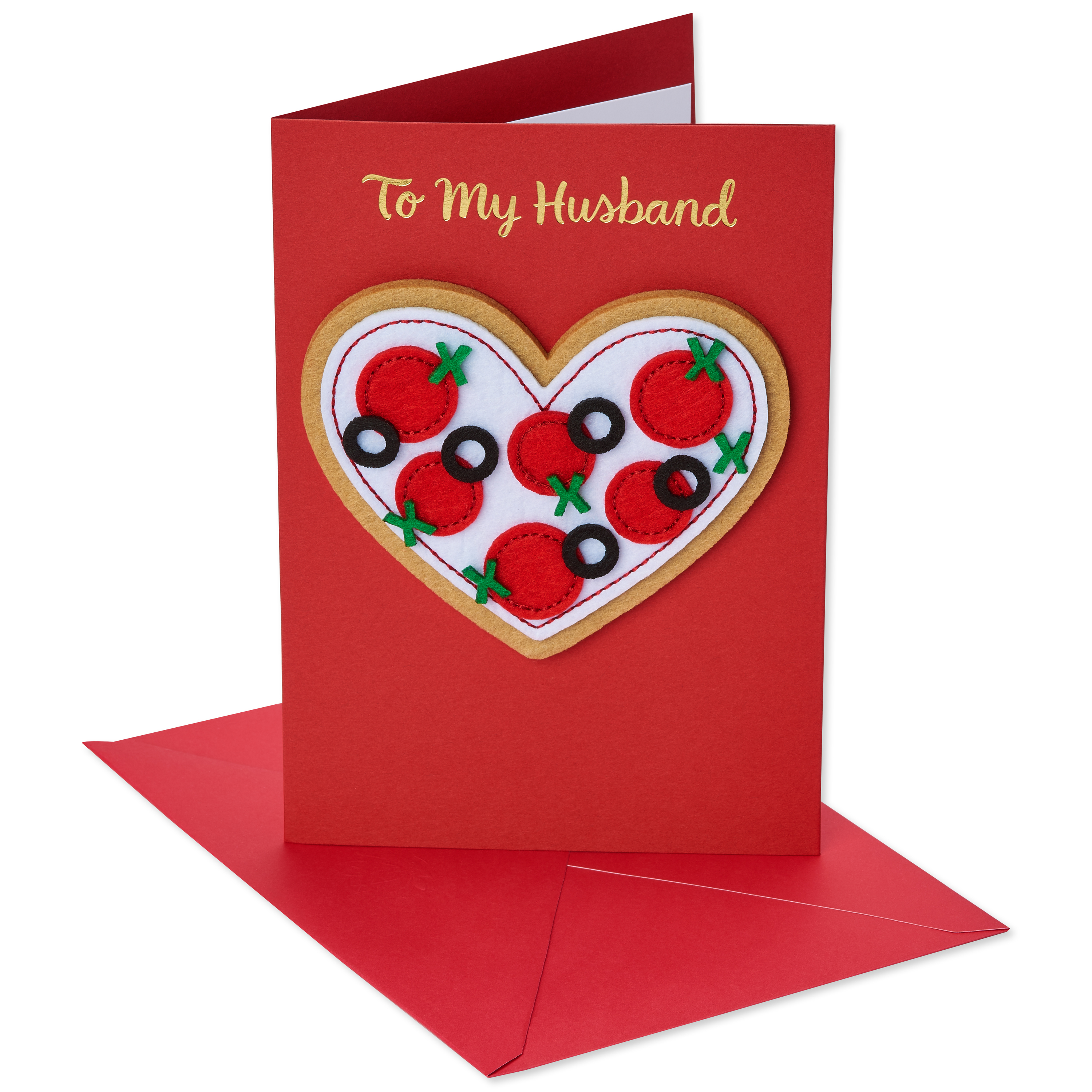American Greetings Pizza Valentines Day Card For Husband Walmart