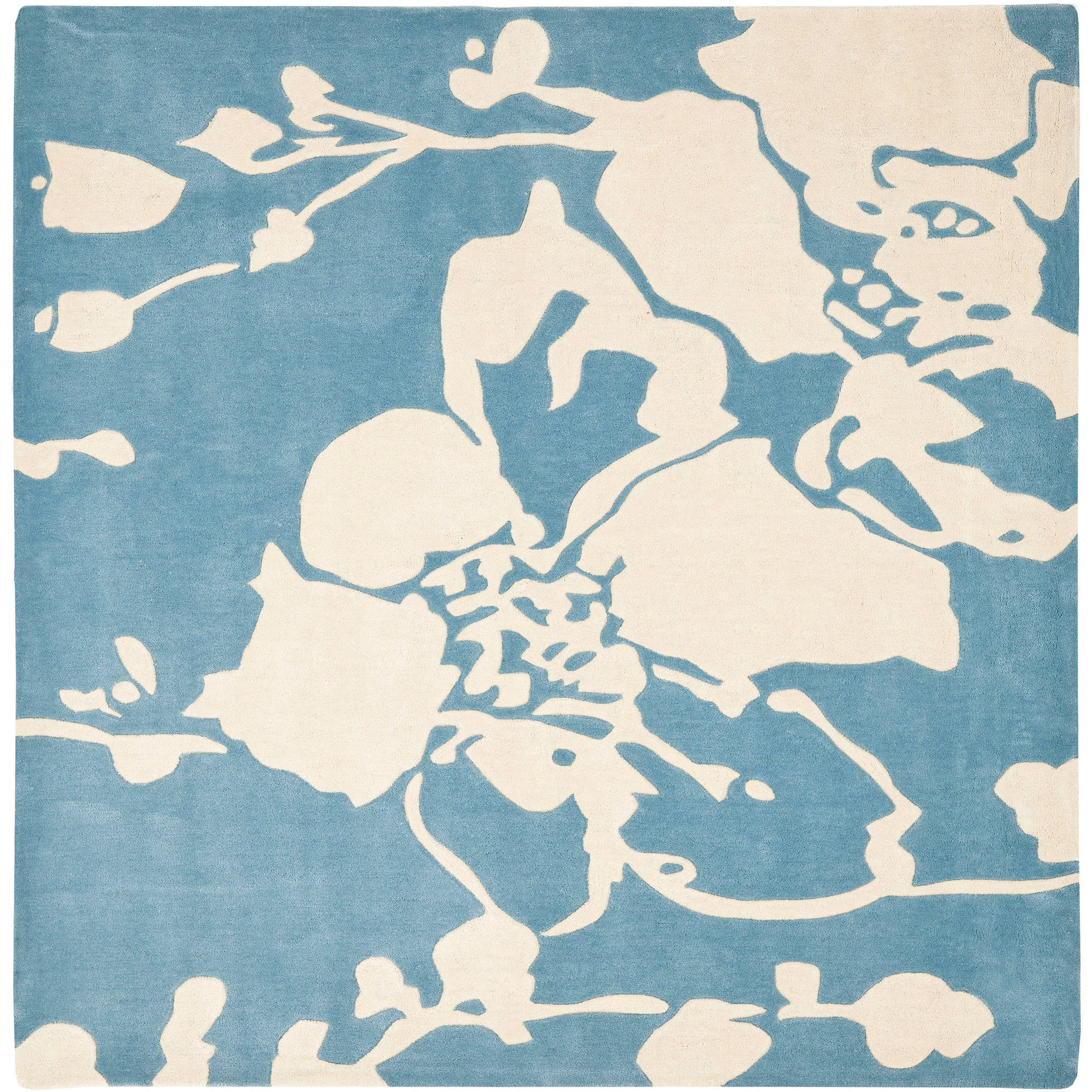 Safavieh Modern Art Jacques Hand-Tufted Area Rug, Blue/Ivory