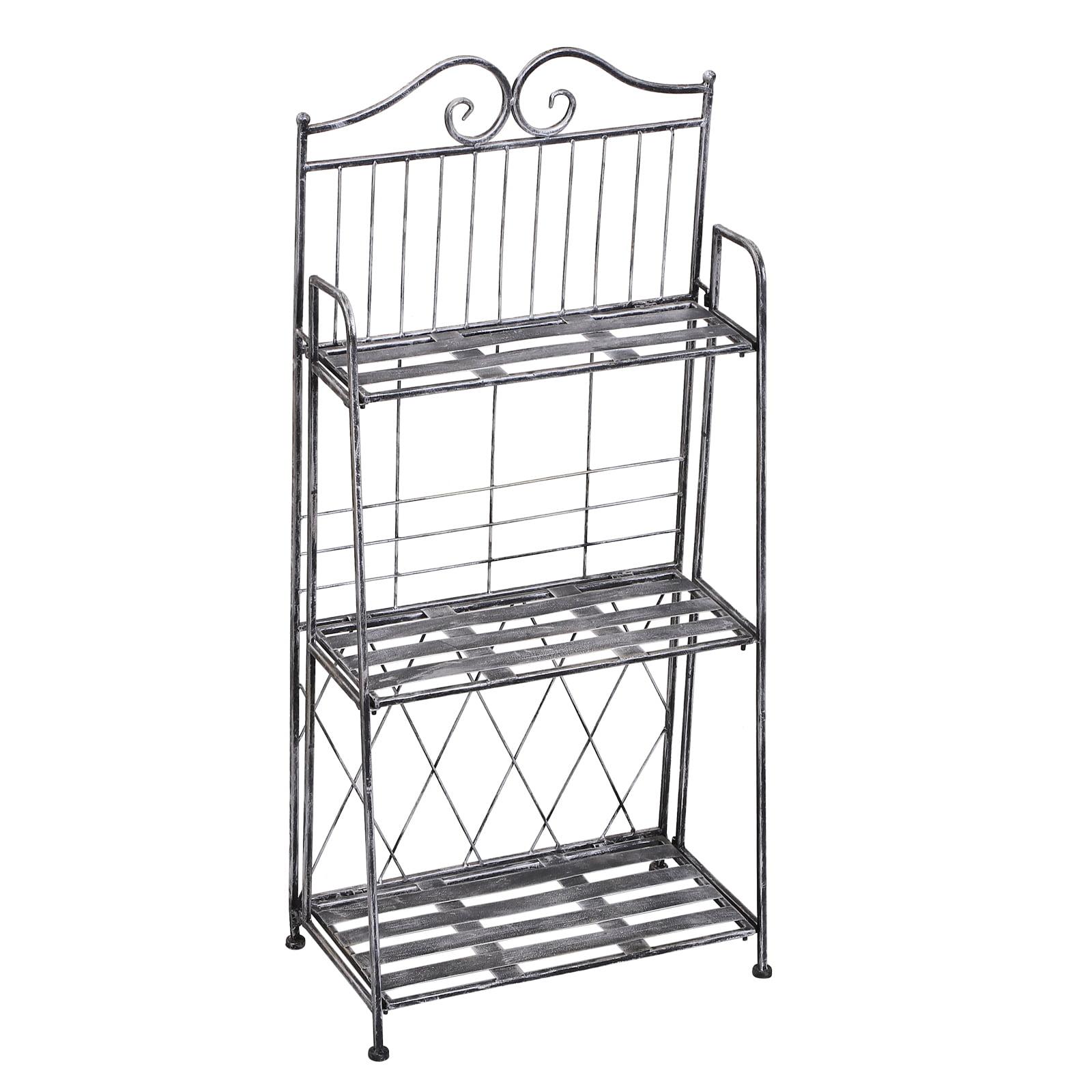 Three Tier Metal Display Shelf