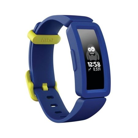 Fitbit Ace 2 Activity Tracker for Kids 6+ in Night Sky with Neon Yellow