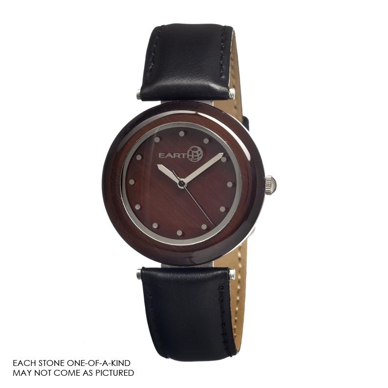 Earth Et1005 Brown Jasper Watch