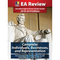 Passkey Learning Systems EA Review Complete : Individuals, Businesses, and Representation: Enrolled Agent Exam Study Guide 2018-2019 Edition (Hardcover)