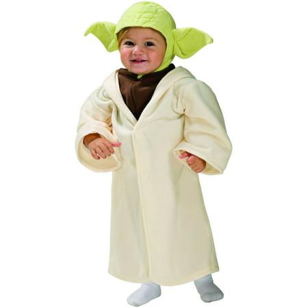 Toddler Star Wars Yoda Halloween Costume 2T-3T