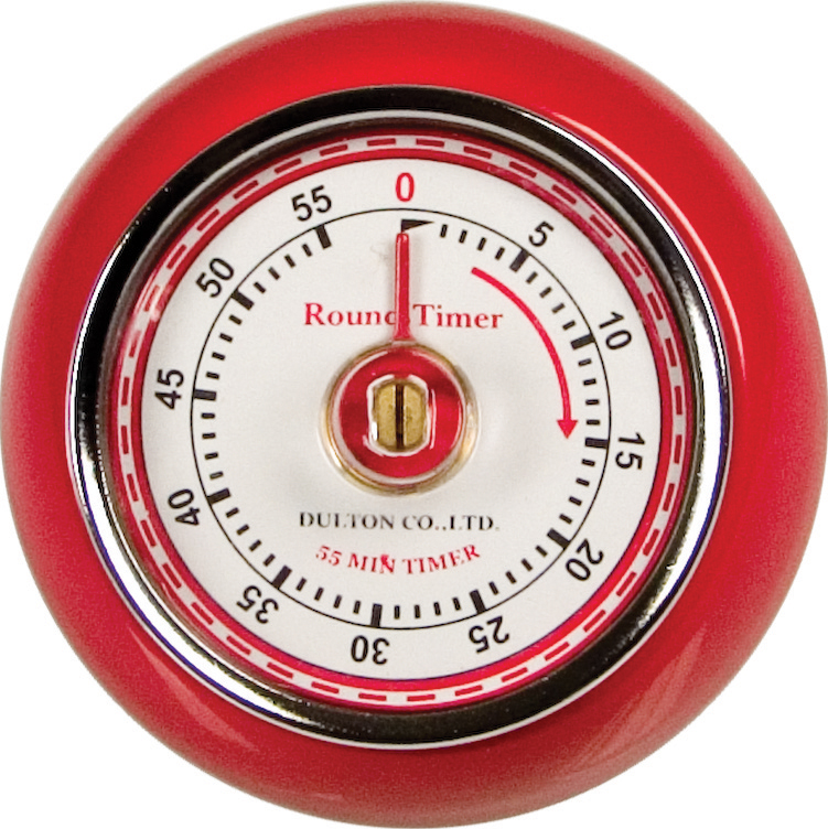 Fox Run Retro Red 60 Minute Kitchen Timer Magnet Espresso Cake Roast Baking  New   Walmart.com