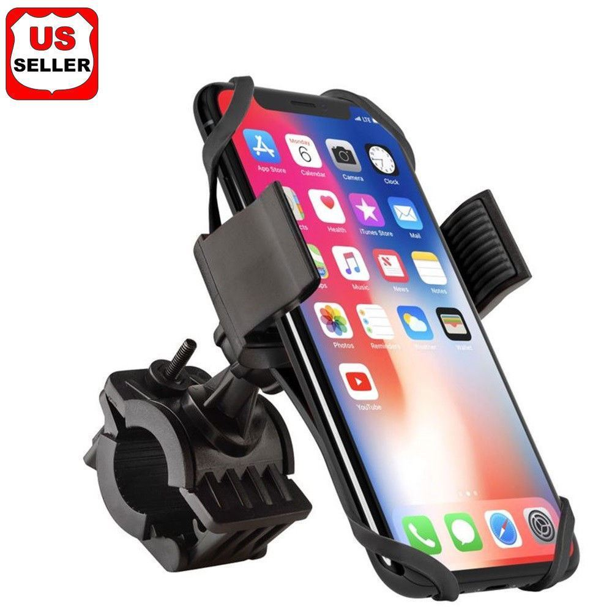 Universal Motorcycle MTB Bicycle Handlebar Bike Mount Holder for Cell Phone GPS