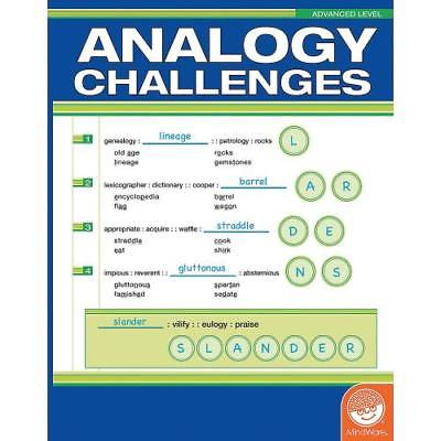 In-32007 Analogy Challenges: Advanced Level Price For 1 Piece
