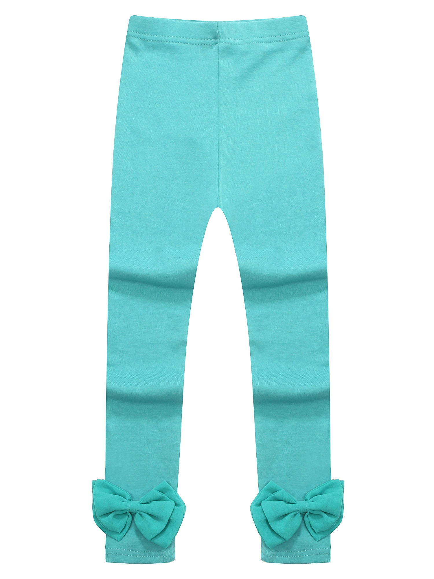 Richie House Girls' Anchored Leggings with Bow at Cuff RH1530