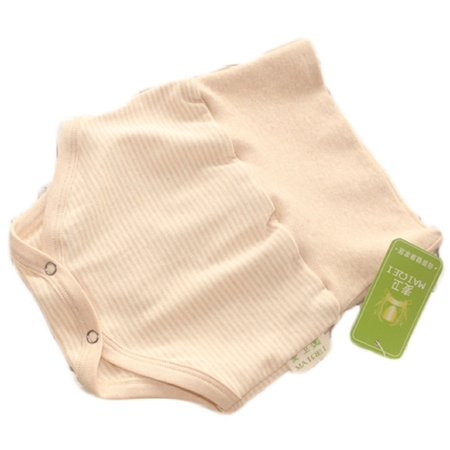 Lian LifeStyle Infant Baby's 1 PK High Waist Organic Cotton Underwear 2 Sizes (Infant Waist Size Chart)
