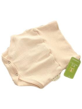 Lian LifeStyle Infant Baby's 1 PK High Waist Organic Cotton Underwear 2 Sizes