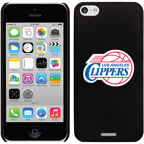 LA Clippers Logo Design on iPhone 5c Thinshield Snap-On Case by Coveroo