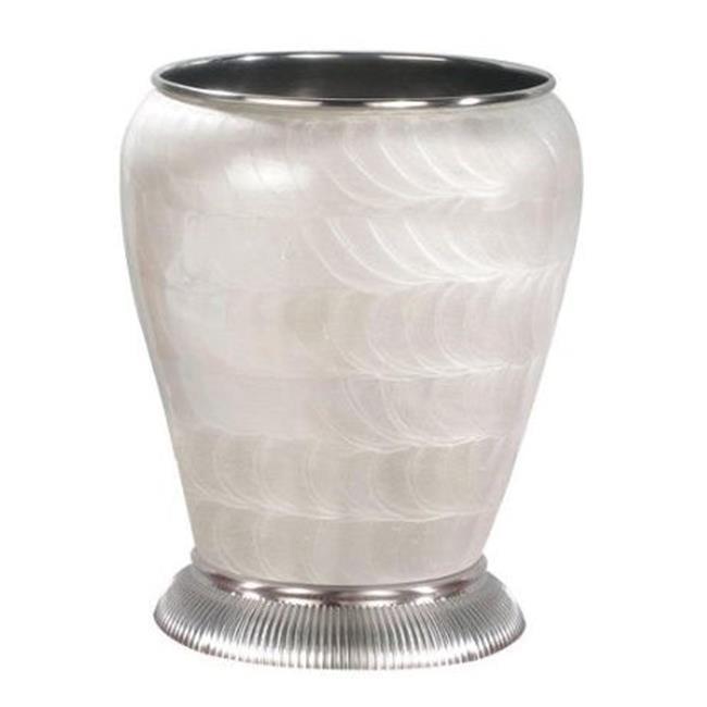 NuSteel MGN8SNH Wastebasket 5 qt - Satin Nickel - image 1 of 1