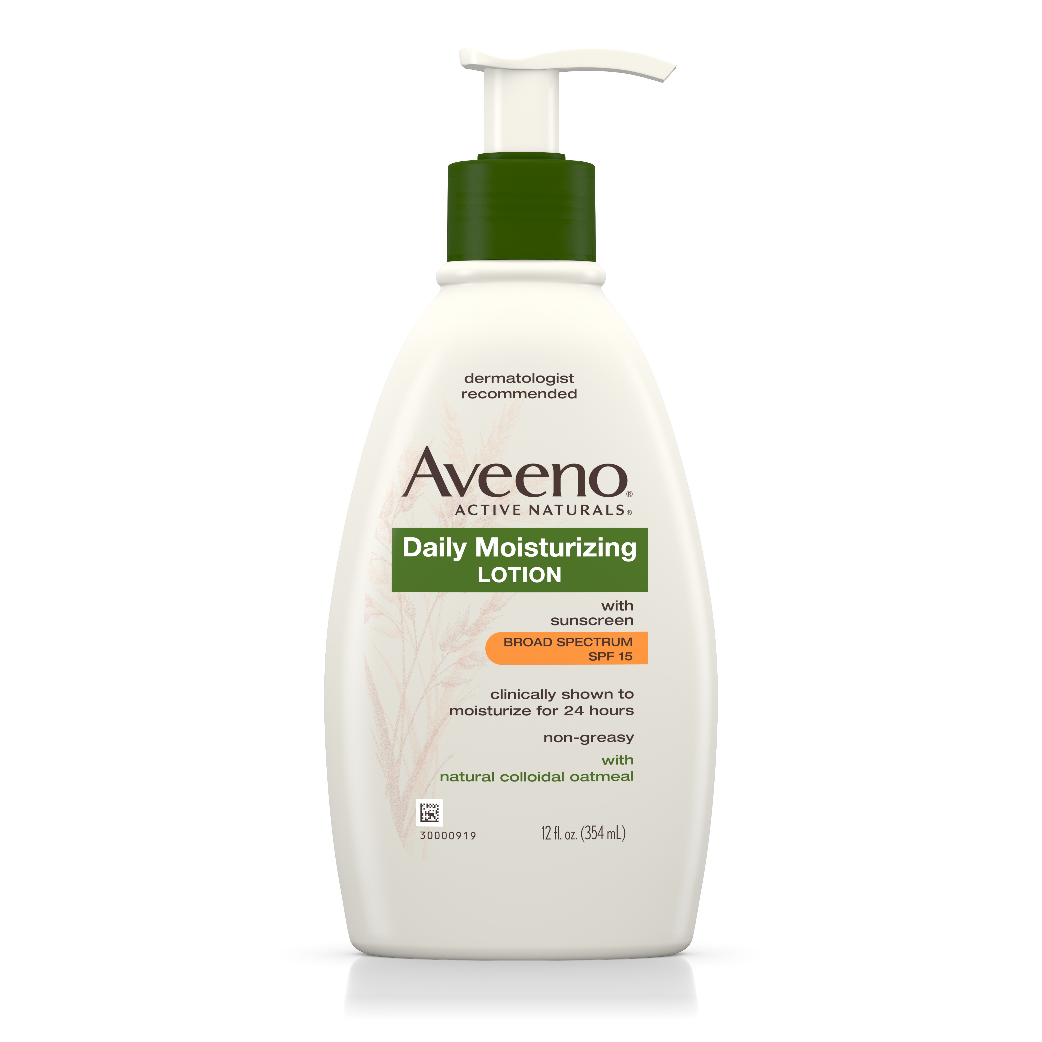 Aveeno Daily Moisturizing Body Lotion With SPF 15, 12 Fl. Oz - Walmart.com