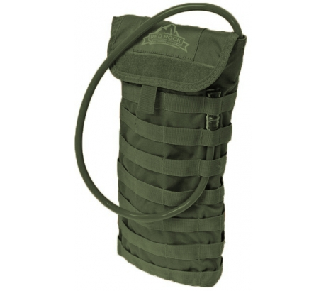 Red Rock Outdoor Gear Molle Hydration Pack, Olive Drab, One-Size by